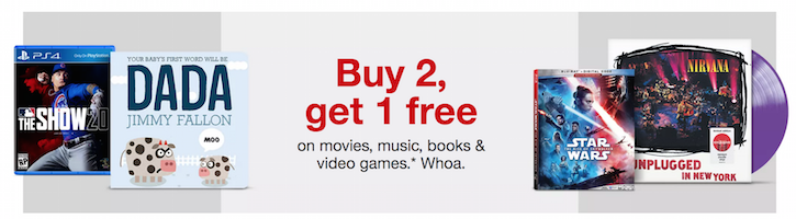 Book and Movie Sale at Target