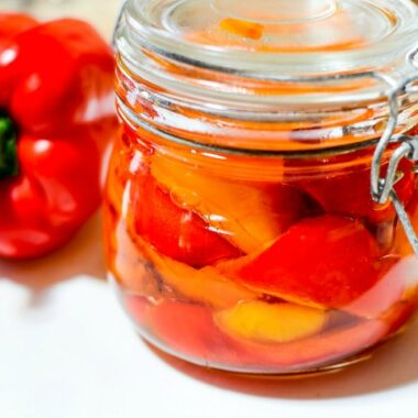 Oven-Roasted Sweet Peppers Recipe