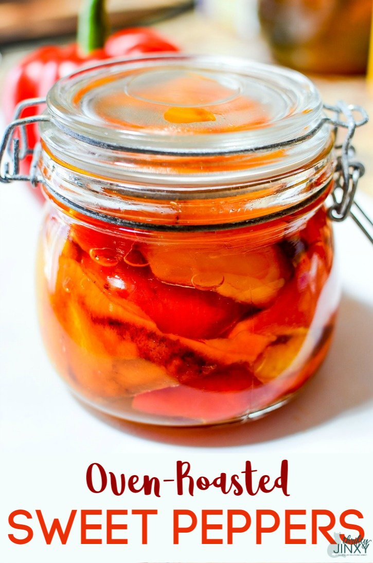 Oven-Roasted Sweet Peppers
