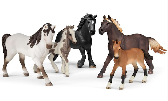 Schleich 5 HORSES COLLECTORS PACK