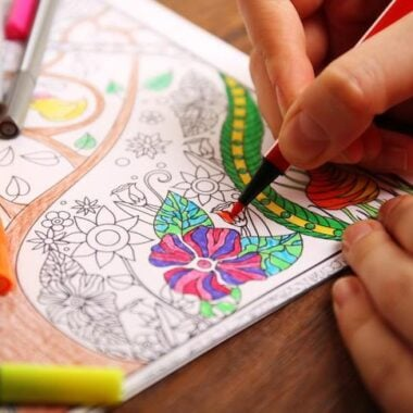 Adult Coloring Book