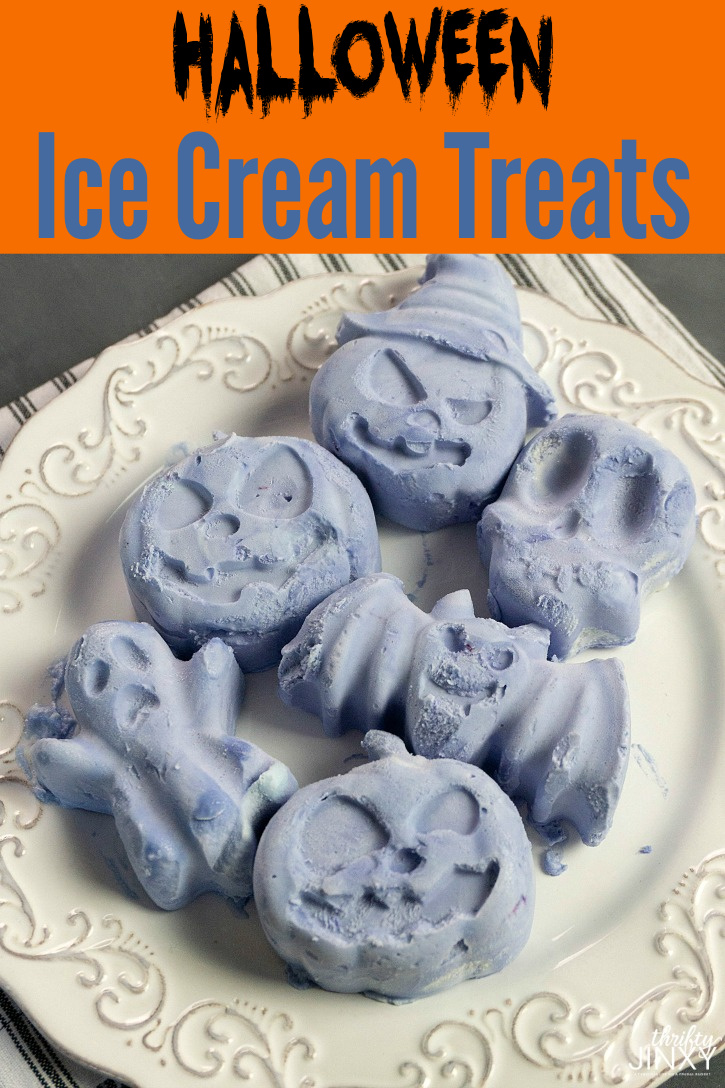 Halloween Ice Cream Treats Recipe