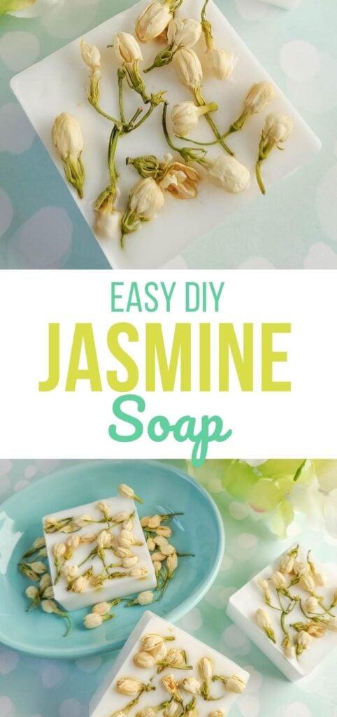 Easy DIY Jasmine Soap