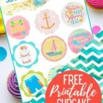 PRINTABLE Summer Cupcake Toppers