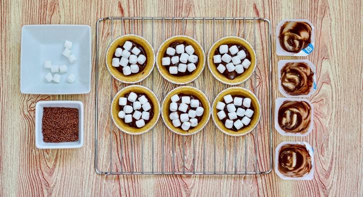 S'mores Pie Recipe process