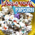 TROLLS WORLD TOUR POPCORN RECIPE