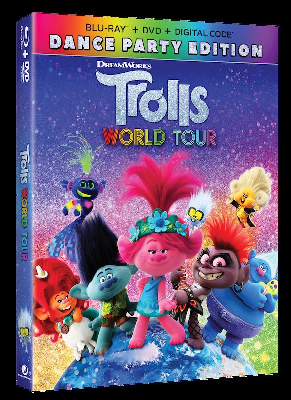 Trolls World Tour Dance Party Edition BluRay