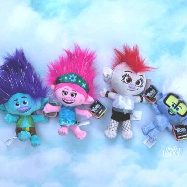 Trolls World Tour Plush Toys Branch Poppy Barb Tiny Diamond