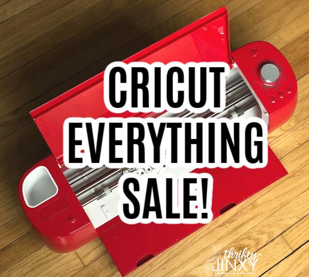 cricut everything sale