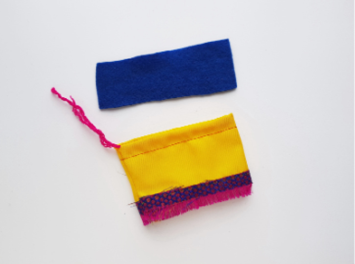 Frida Kahlo Rag Doll step 14