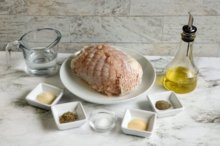 Slow Cooker Turkey Breast Roast ingredients needed