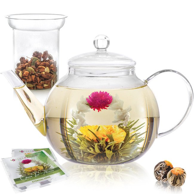 TeaBloom Tea Pot Set