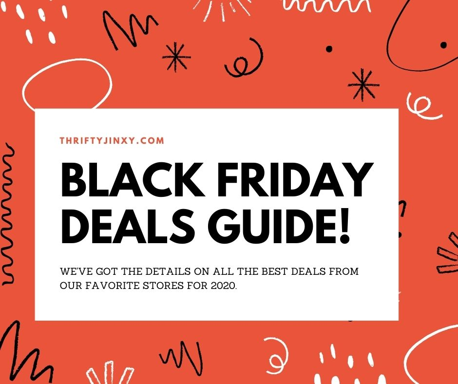 2020 Black Friday Deals Guide