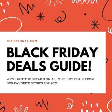 2021 Black Friday Deals Guide
