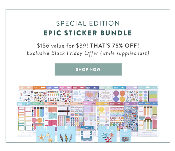 Erin Condren Black Friday Sticker Bundle