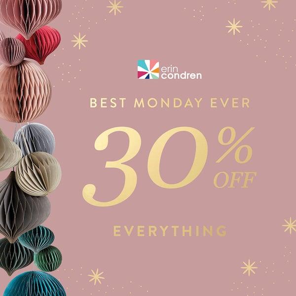 Erin Condren Cyber Monday Sale