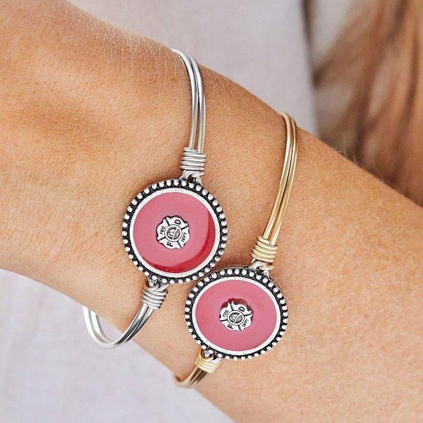 Firefighter Bangle Bracelet