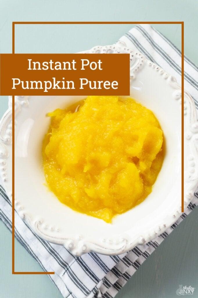 Instant Pot Pumpkin Puree Recipe