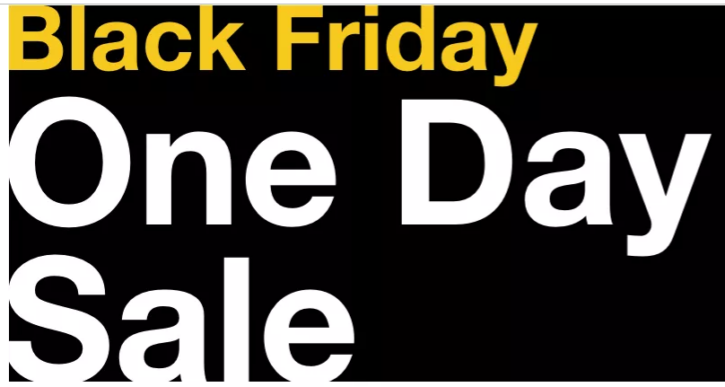 Macy's Black Friday One Day Sale