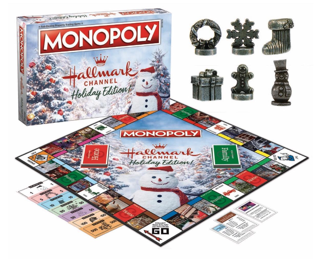 Hallmark Channel Monopoly Game