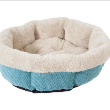 Shearling Round Pet Bed