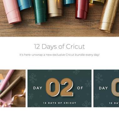 12 Days of Cricut