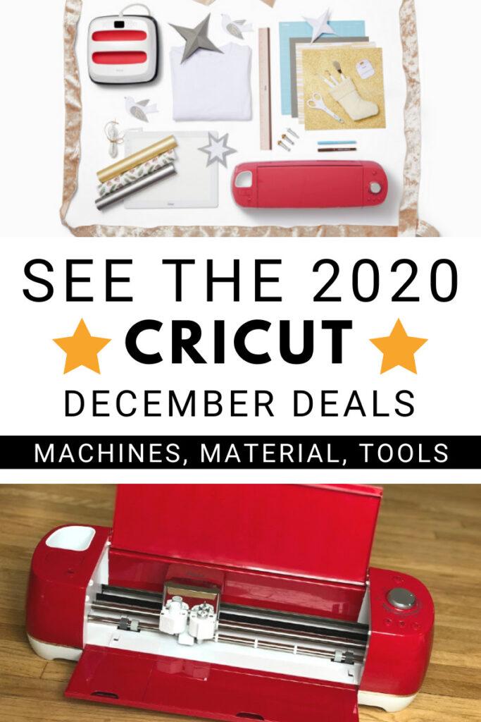 Cricut December Deals