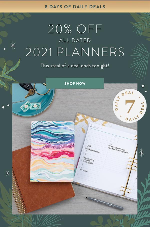 Erin Condren Planner Sale 20 Percent Off