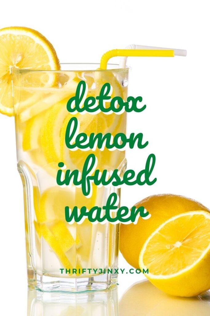 detox lemon infused water (1)