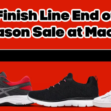 Finish Line End of Season Sale at Macys