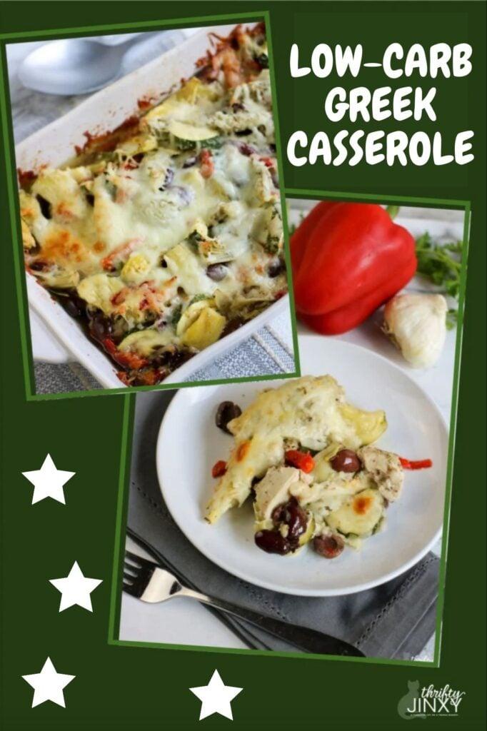 Low Carb Greek Casserole