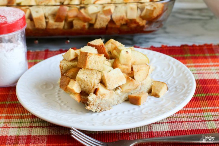 Apple Challah French Toast Casserole Recipe