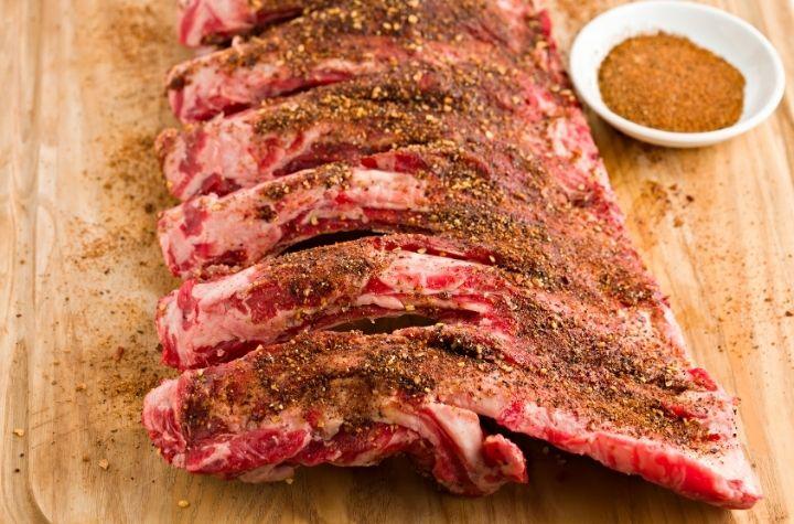 Pork Ribs dry rub