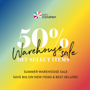 Erin Condren Summer Warehouse Sale