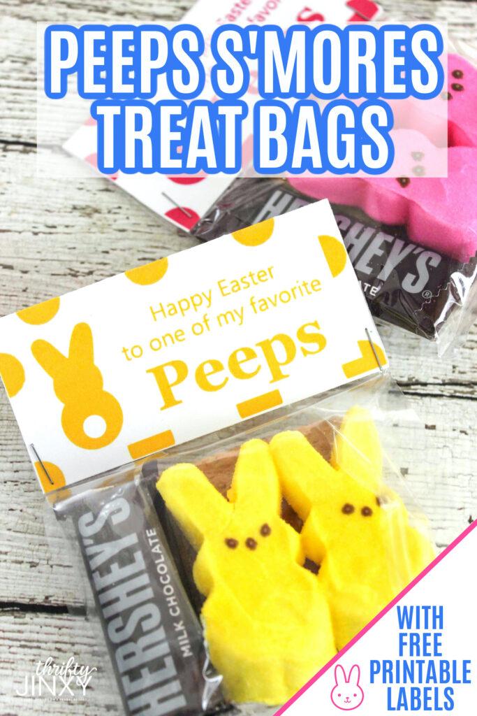 Peeps Smores Treat Bags