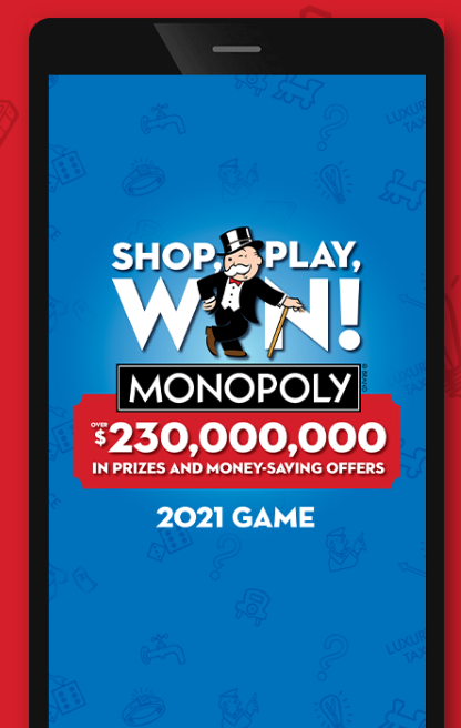 Monopoly at Albertsons App