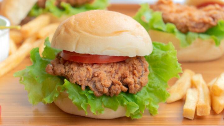 Crispy Fried Chicken Sandwich Recipe