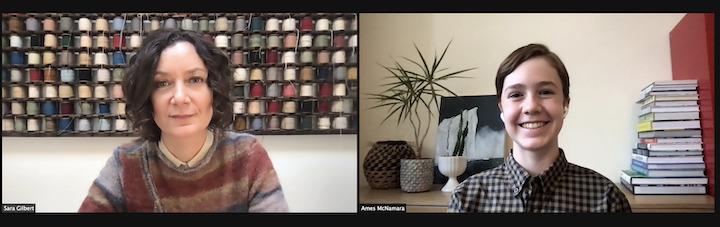 The Conners Sara Gilbert and Ames McNamara Interview