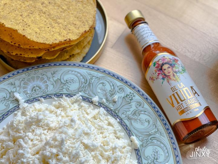 tostada ingredients