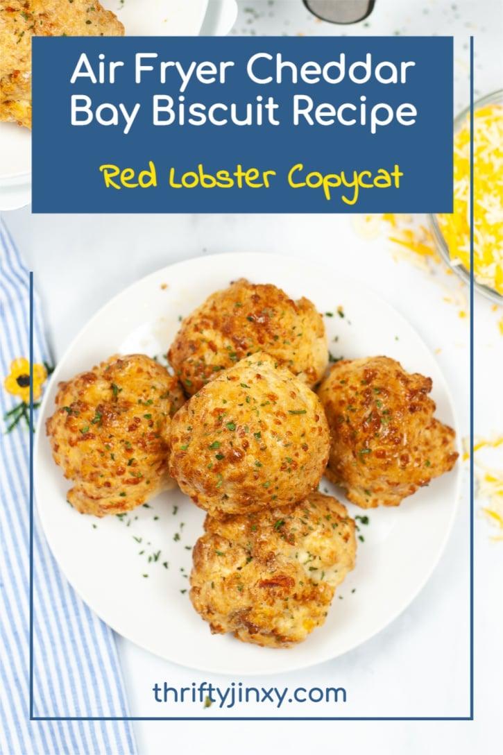 Air Fryer Cheddar Bay Biscuit Recipe – Red Lobster Copycat