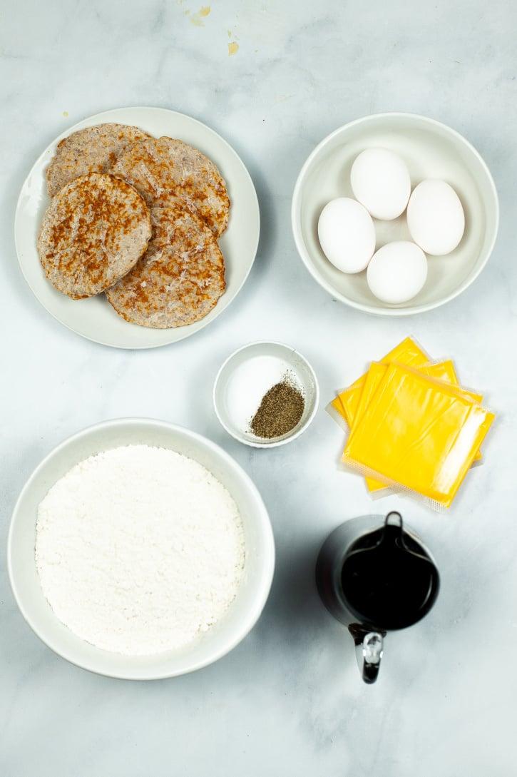 Easy McGriddle Recipe ingredients needed