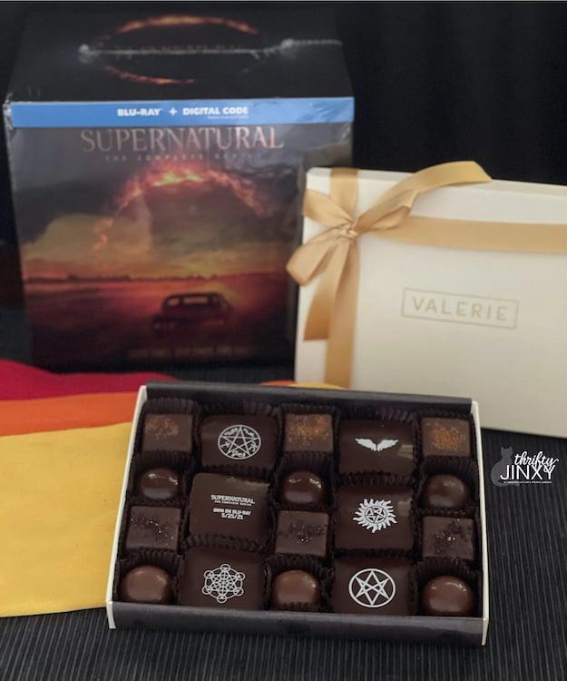 Supernatural Chocolates and Box Set