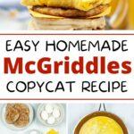 Homemade McGriddles Recipe