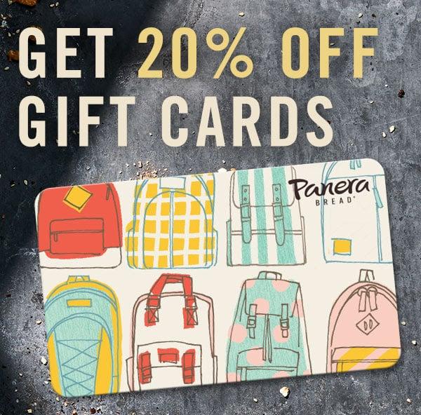 Panera Gift Card Offer
