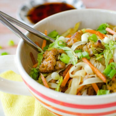 Deconstructed Egg Roll Bowl